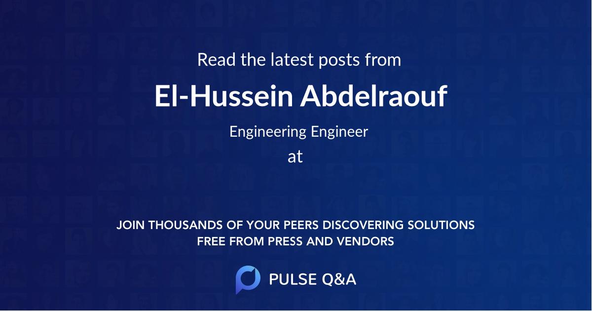 El-Hussein Abdelraouf