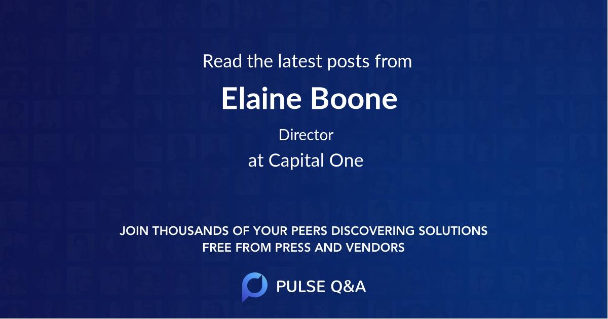 Elaine Boone
