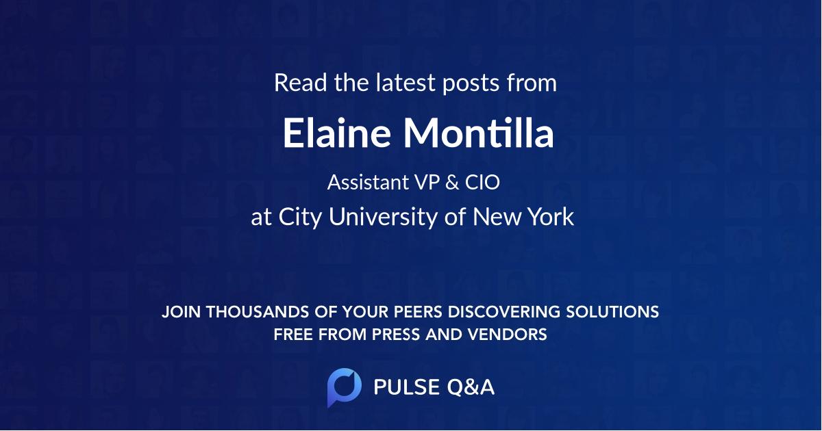 Elaine Montilla