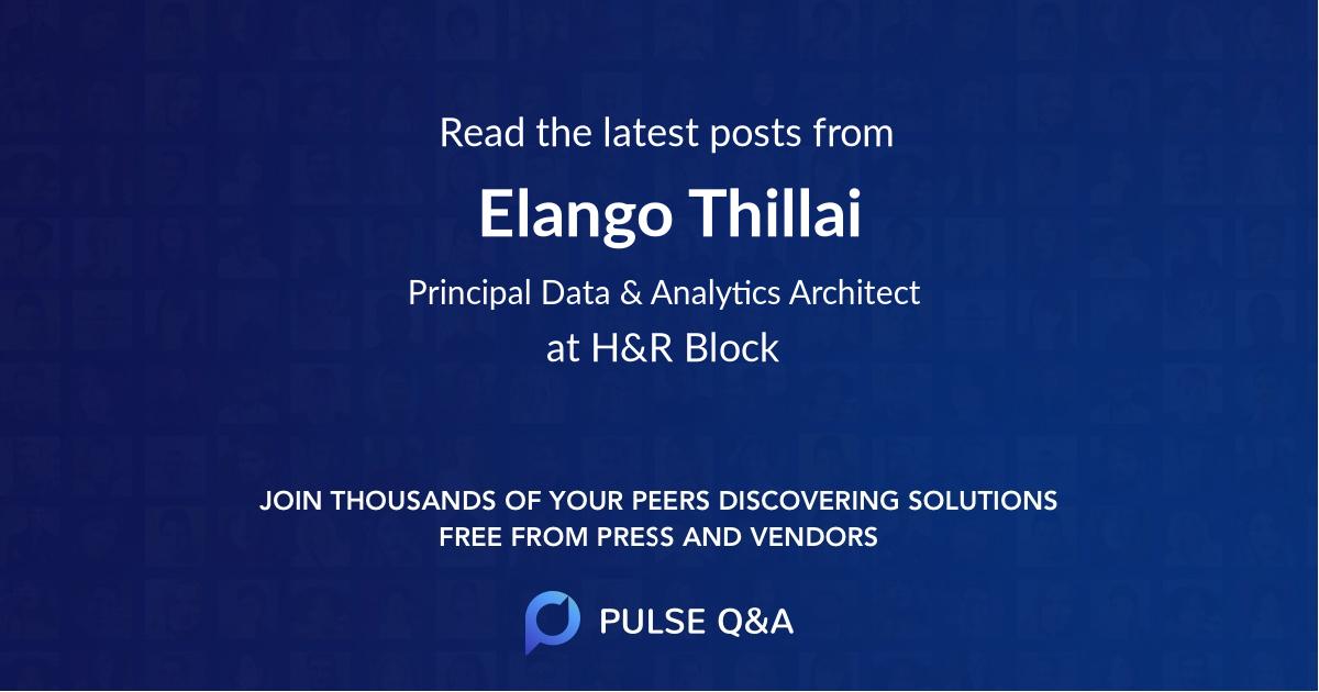 Elango Thillai