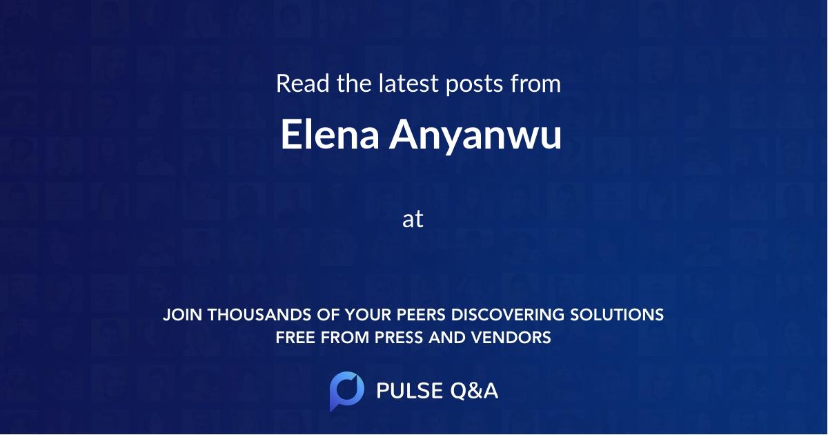 Elena Anyanwu