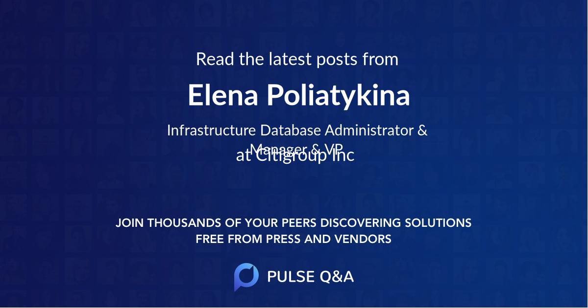 Elena Poliatykina