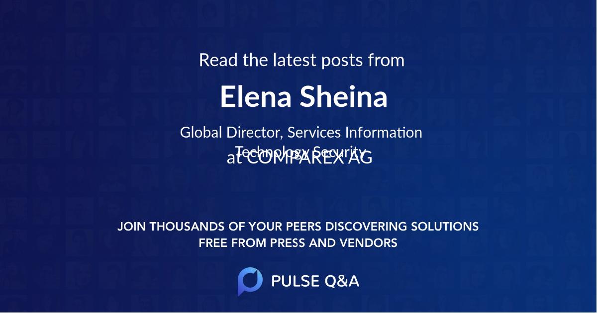 Elena Sheina