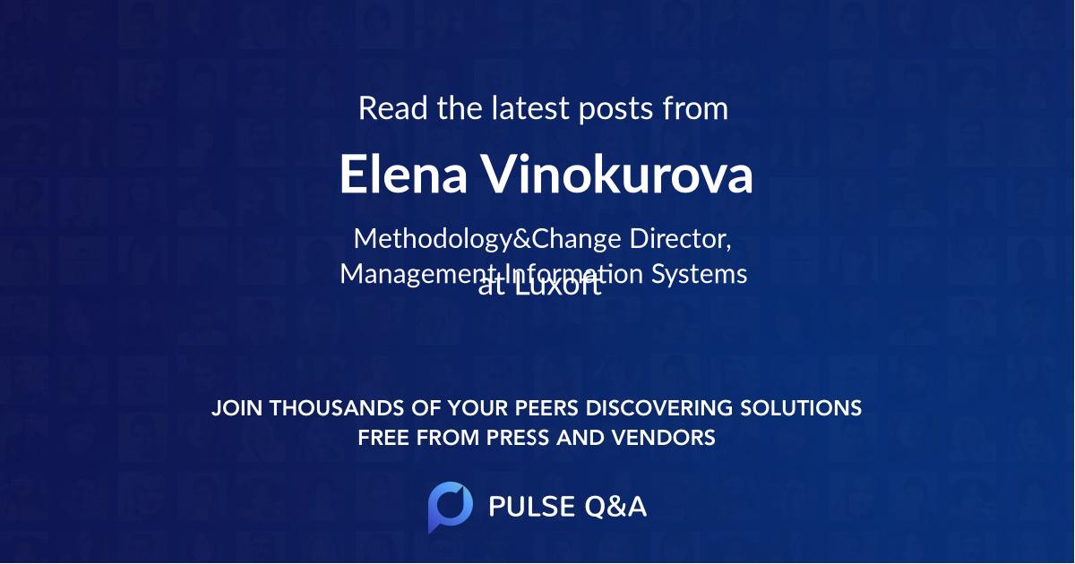 Elena Vinokurova