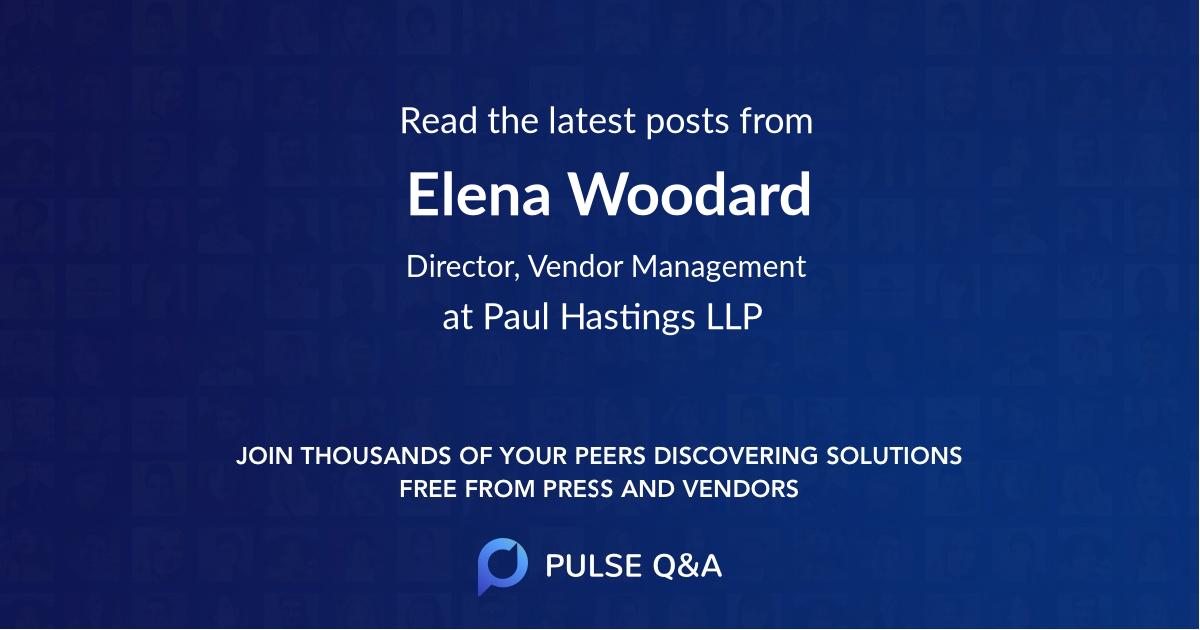 Elena Woodard