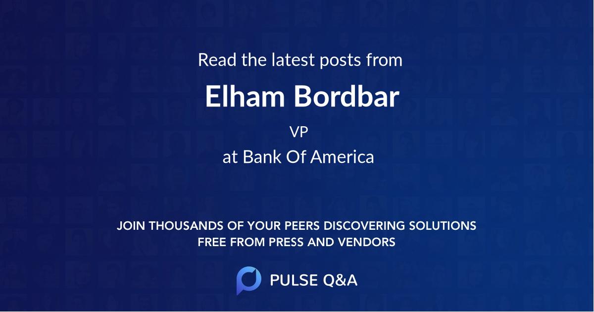 Elham Bordbar