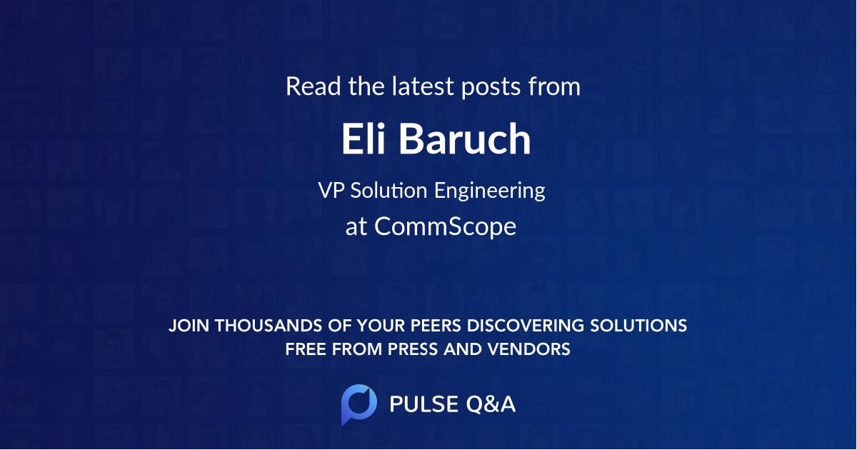 Eli Baruch