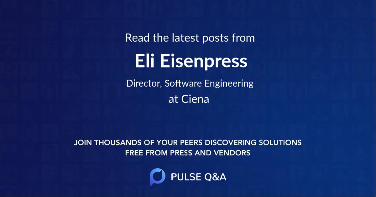 Eli Eisenpress