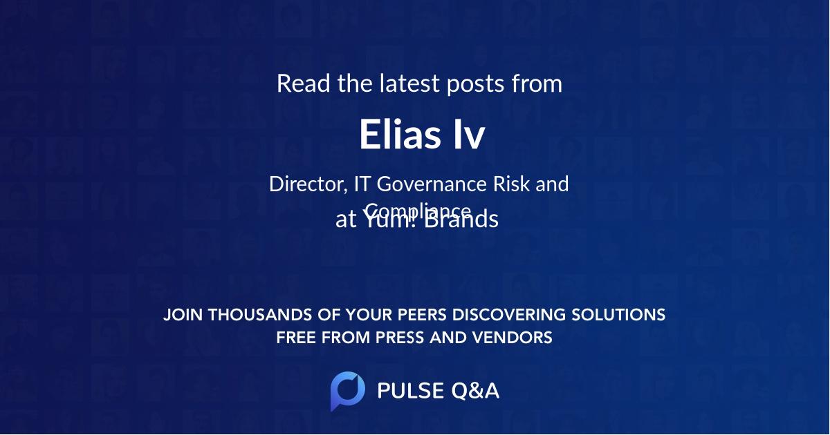 Elias Iv