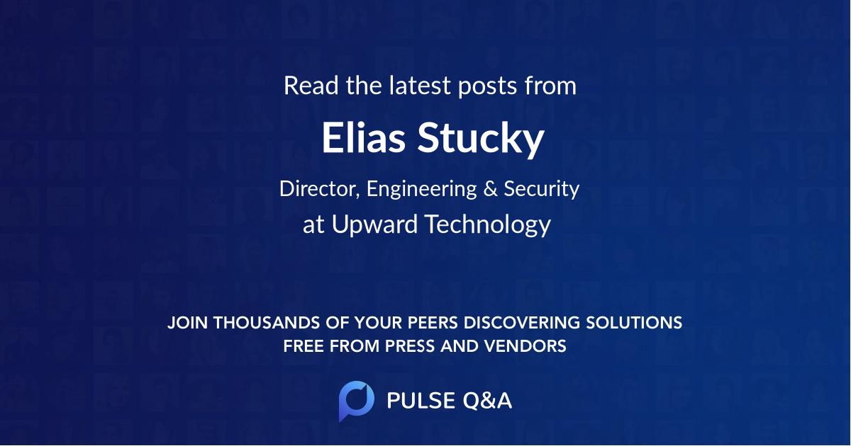 Elias Stucky