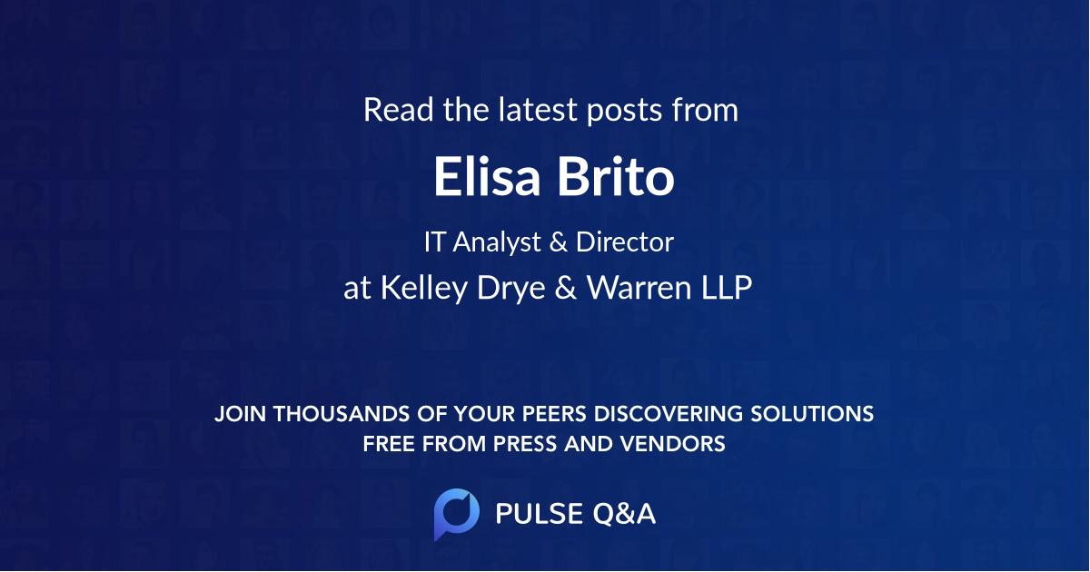 Elisa Brito