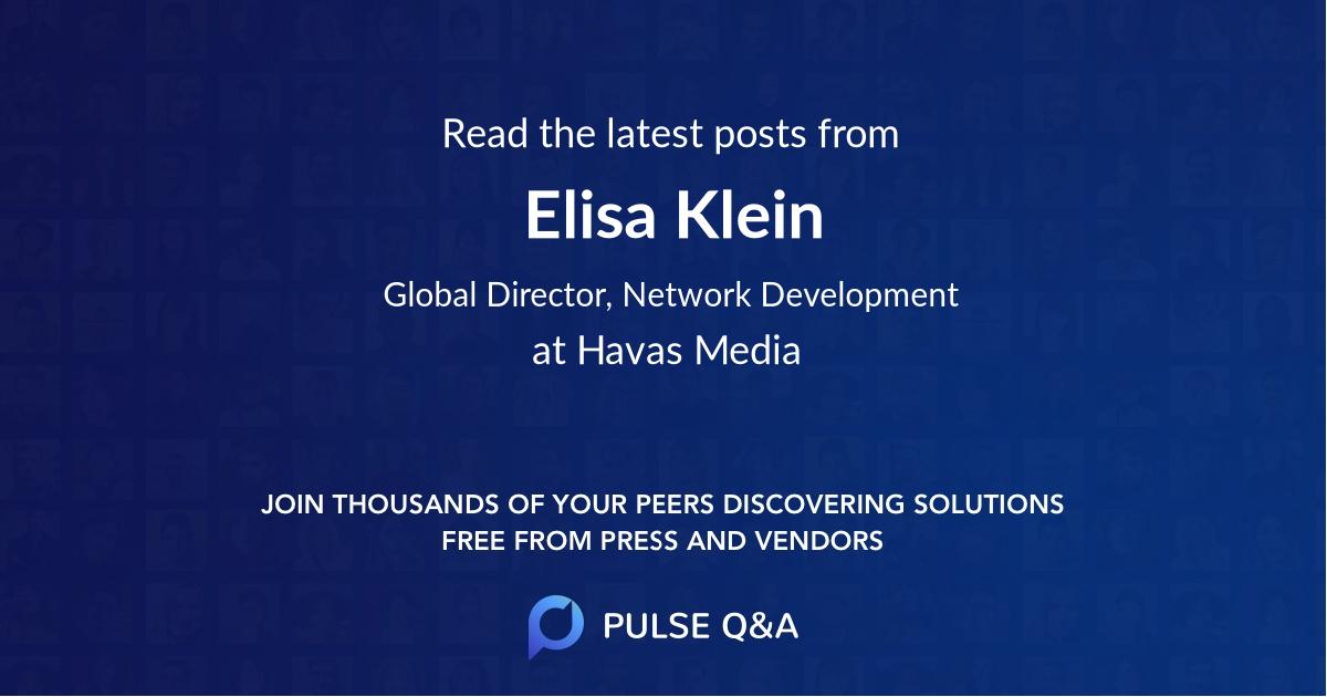 Elisa Klein