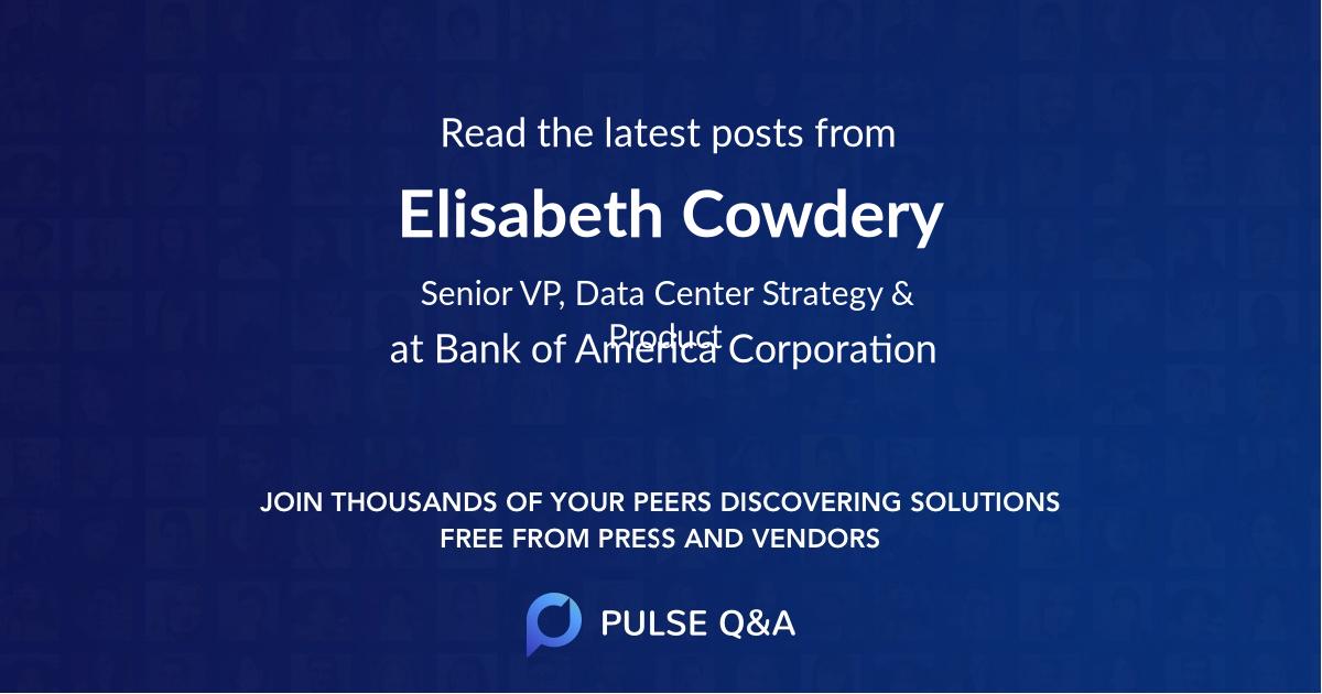 Elisabeth Cowdery