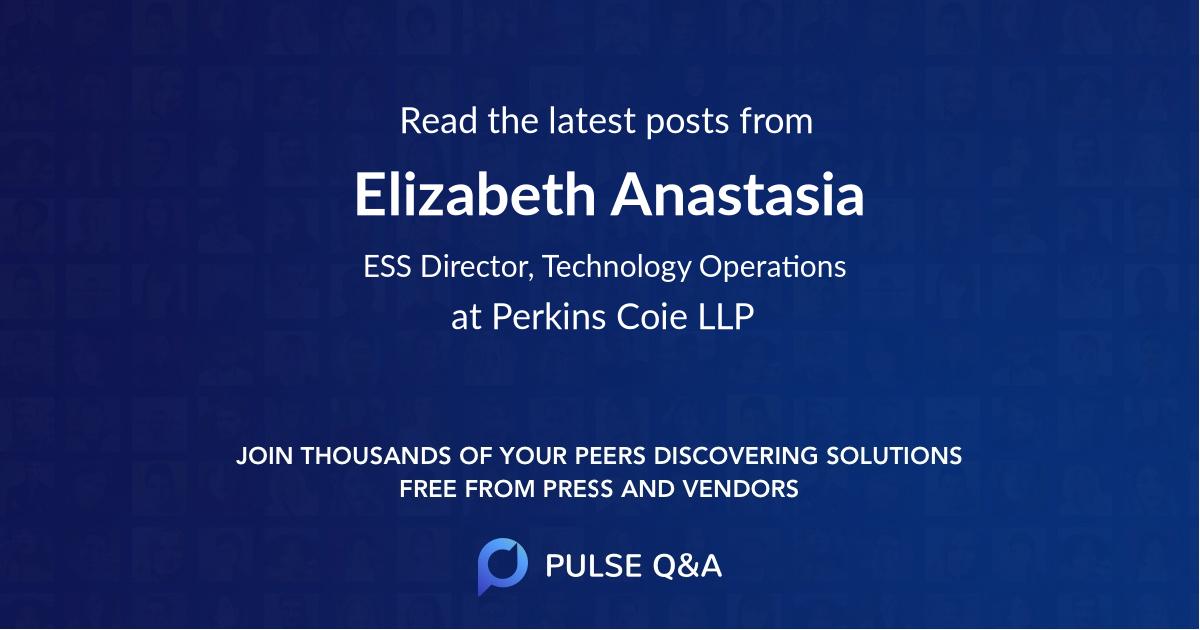Elizabeth Anastasia