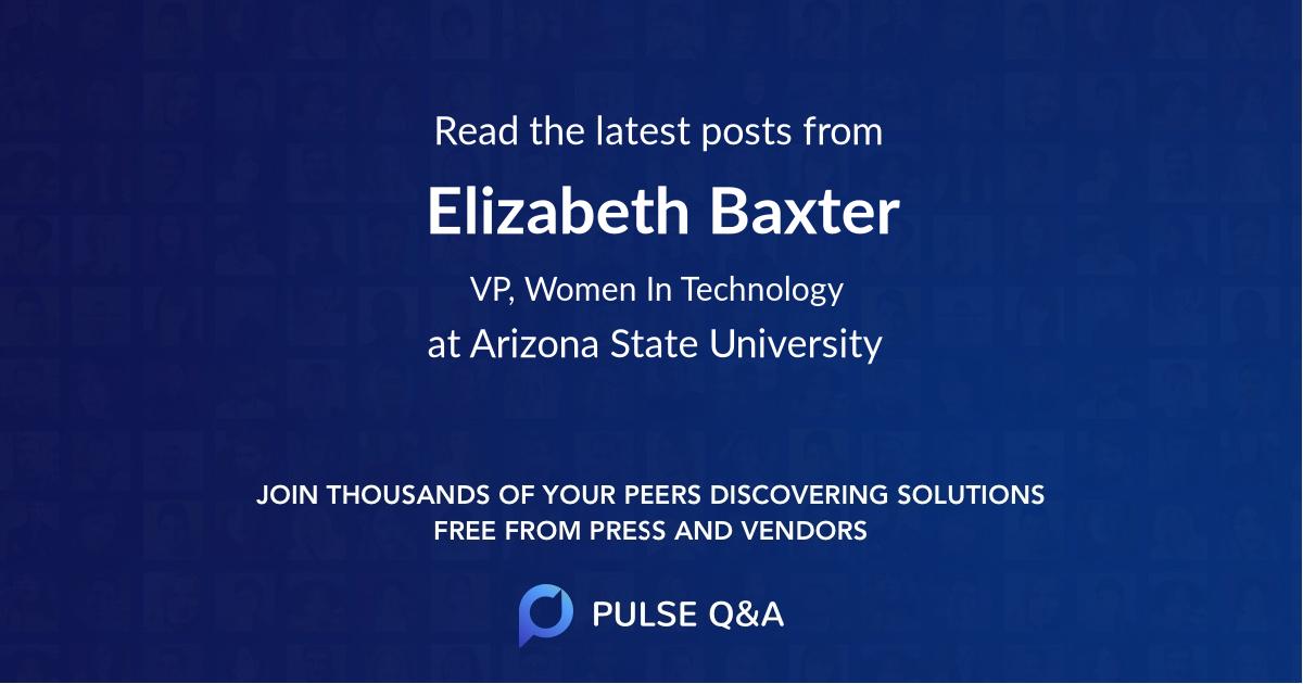 Elizabeth Baxter