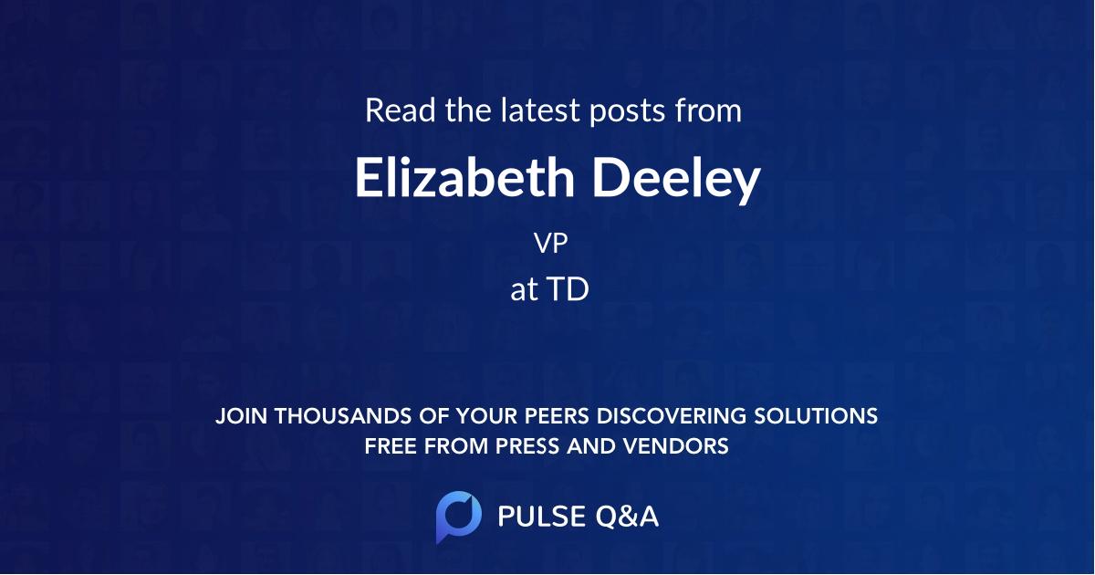 Elizabeth Deeley