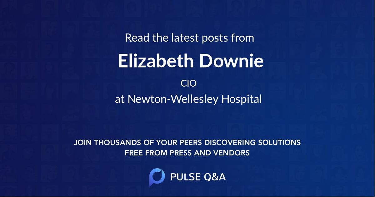 Elizabeth Downie