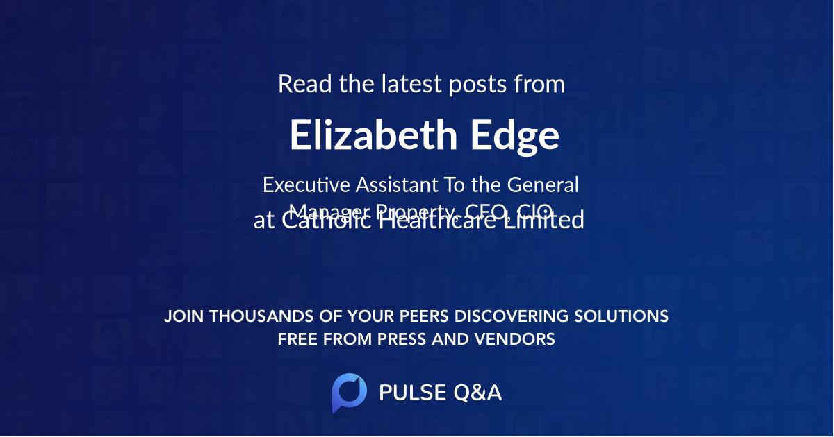 Elizabeth Edge