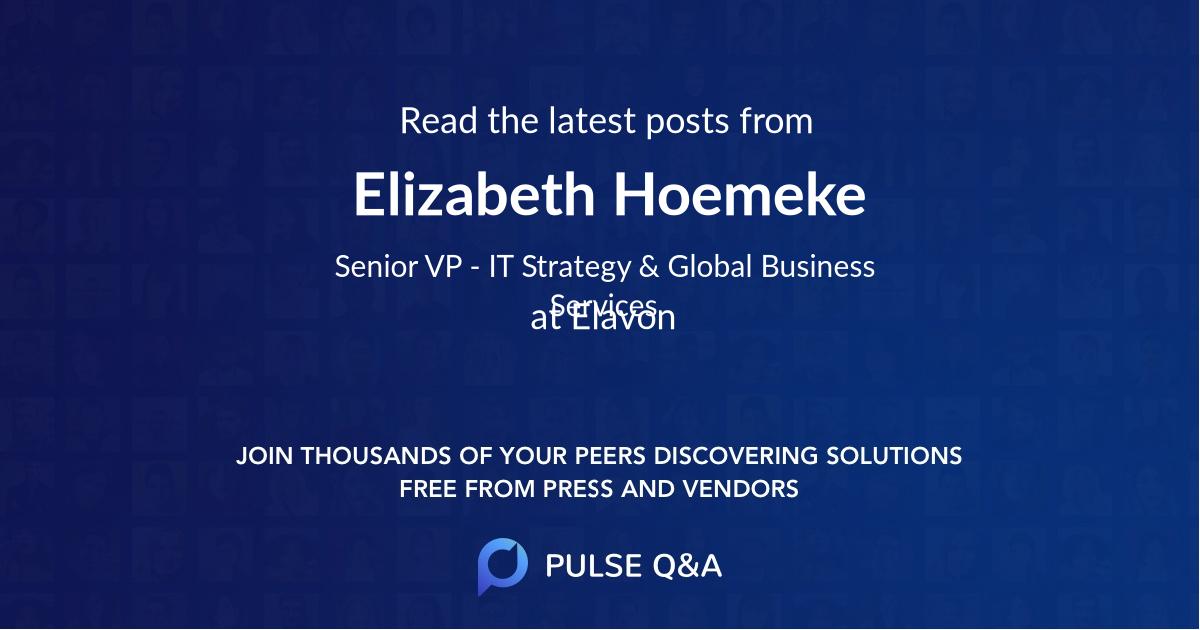 Elizabeth Hoemeke