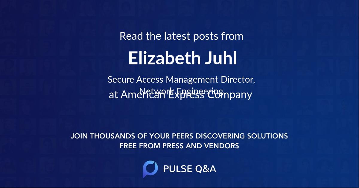 Elizabeth Juhl