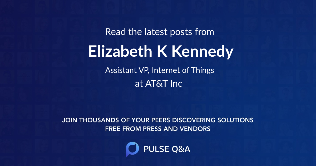 Elizabeth K Kennedy