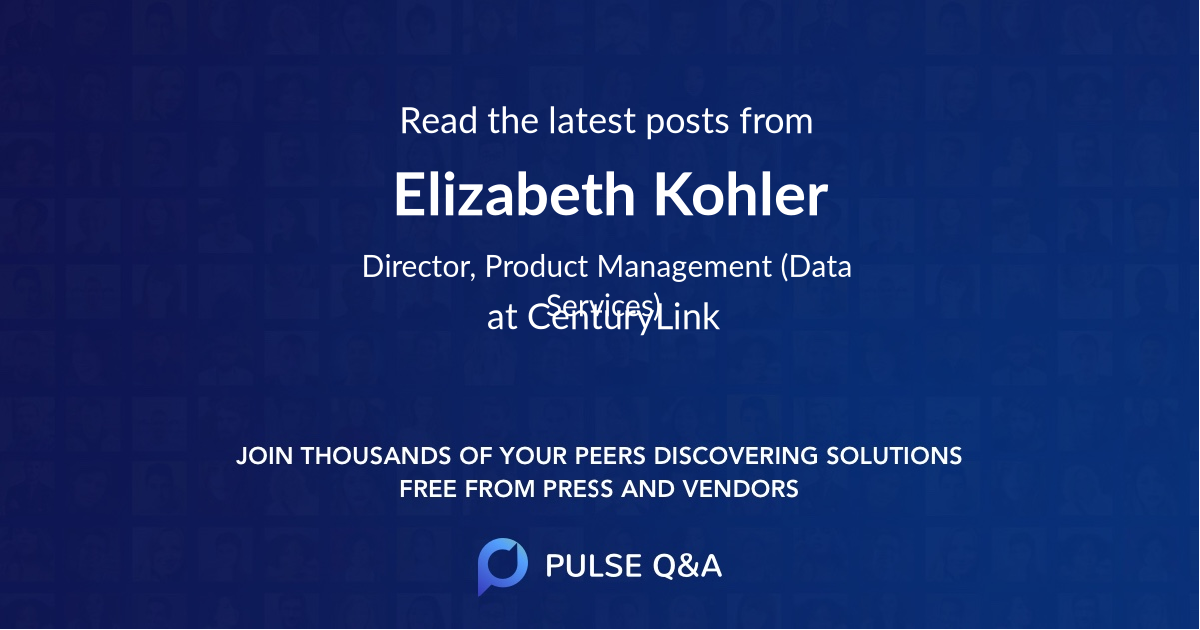 Elizabeth Kohler