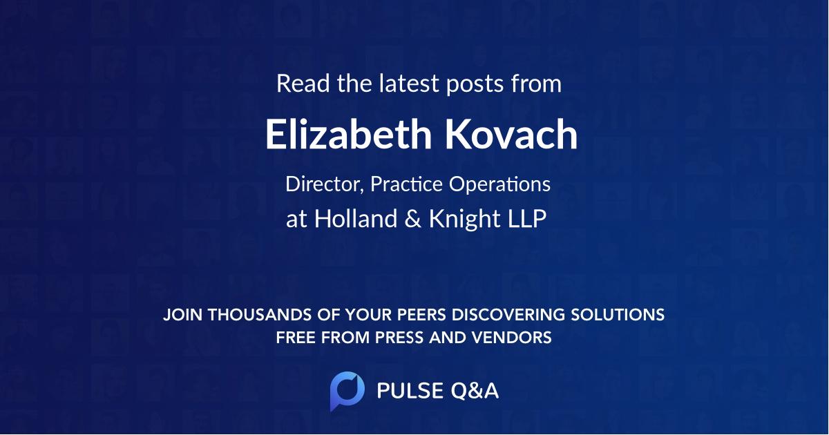 Elizabeth Kovach