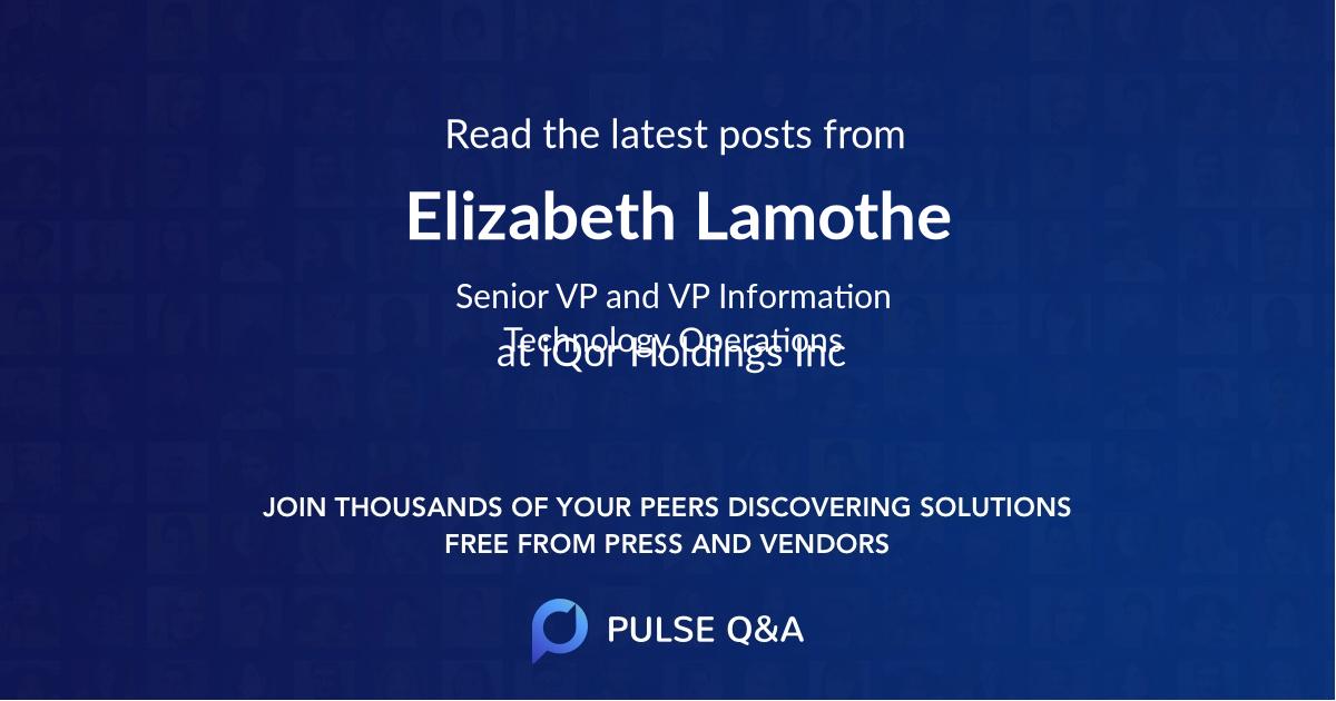 Elizabeth Lamothe