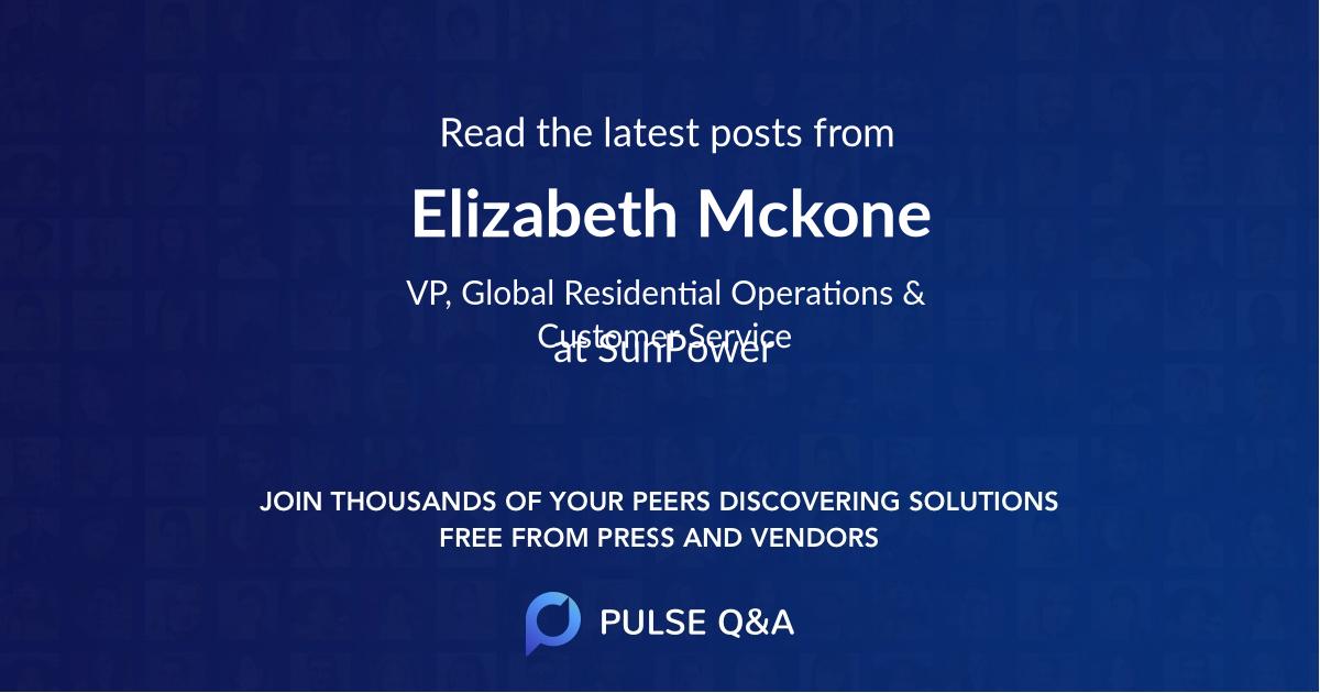 Elizabeth Mckone