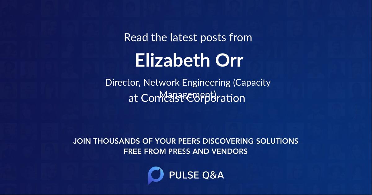 Elizabeth Orr