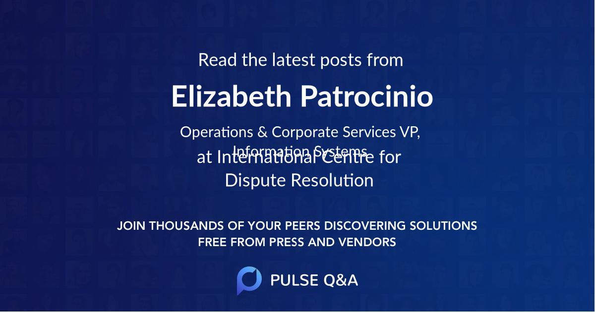 Elizabeth Patrocinio
