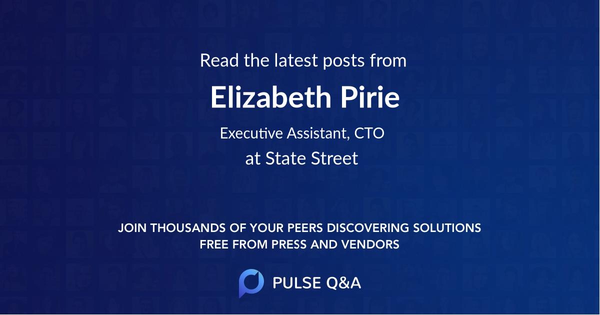 Elizabeth Pirie