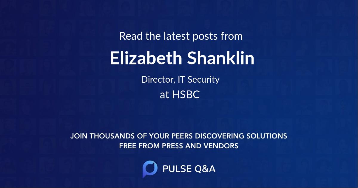 Elizabeth Shanklin