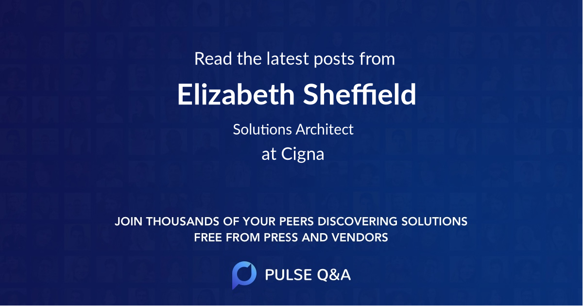 Elizabeth Sheffield