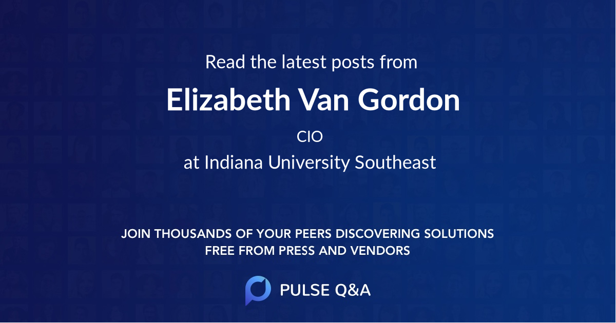 Elizabeth Van Gordon