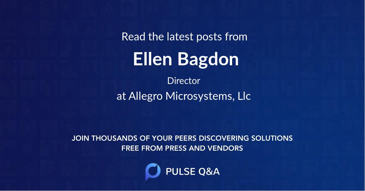 Ellen Bagdon