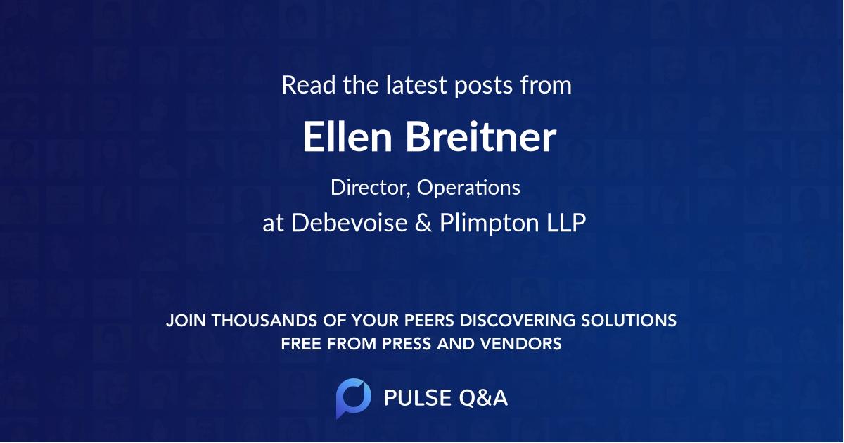 Ellen Breitner