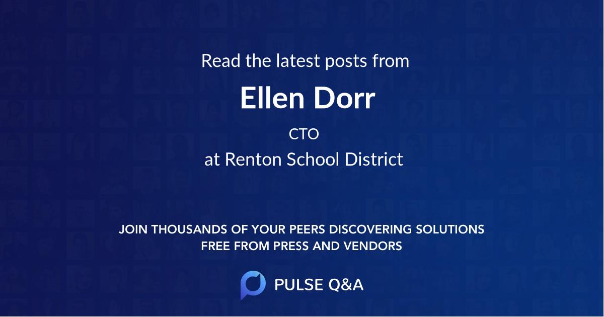 Ellen Dorr