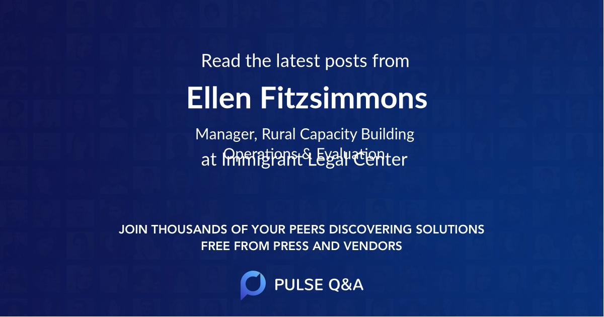 Ellen Fitzsimmons