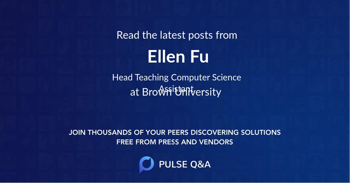 Ellen Fu