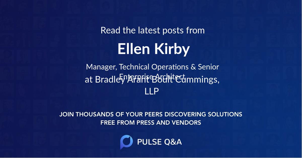 Ellen Kirby