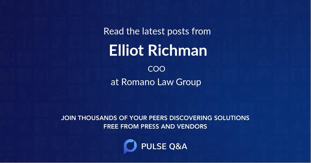 Elliot Richman