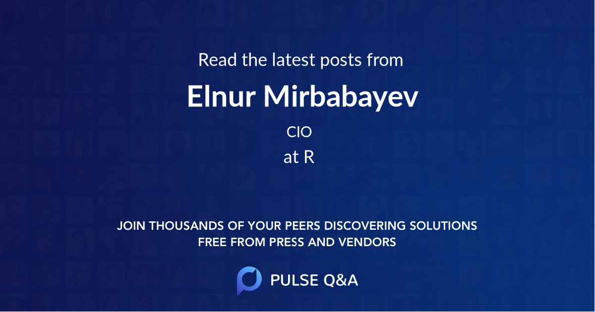 Elnur Mirbabayev