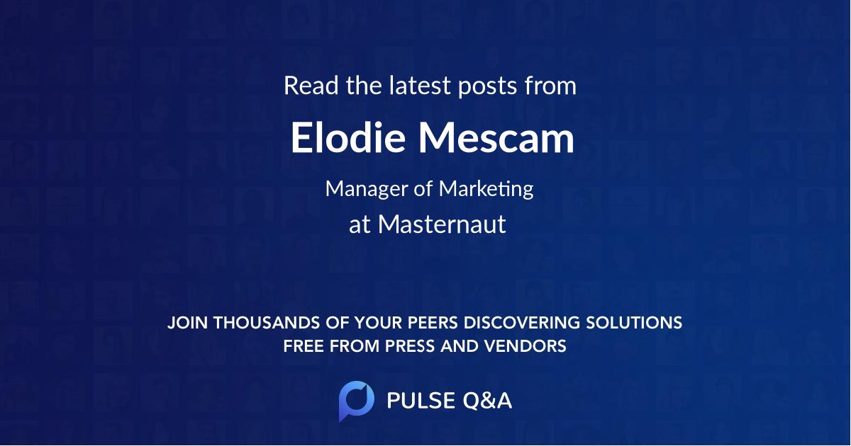 Elodie Mescam