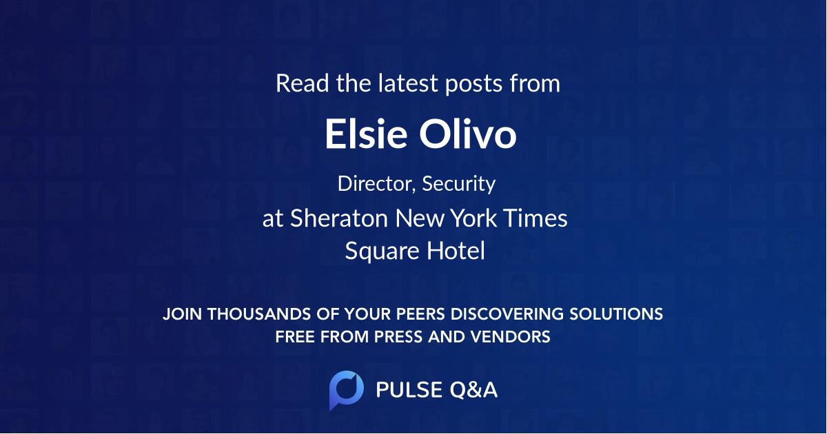 Elsie Olivo