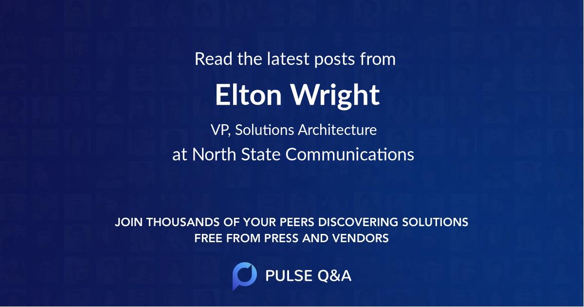 Elton Wright