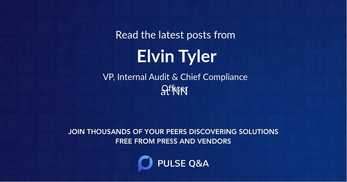 Elvin Tyler