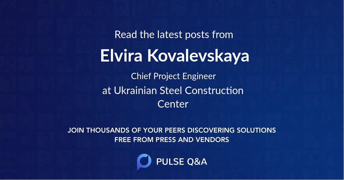 Elvira Kovalevskaya