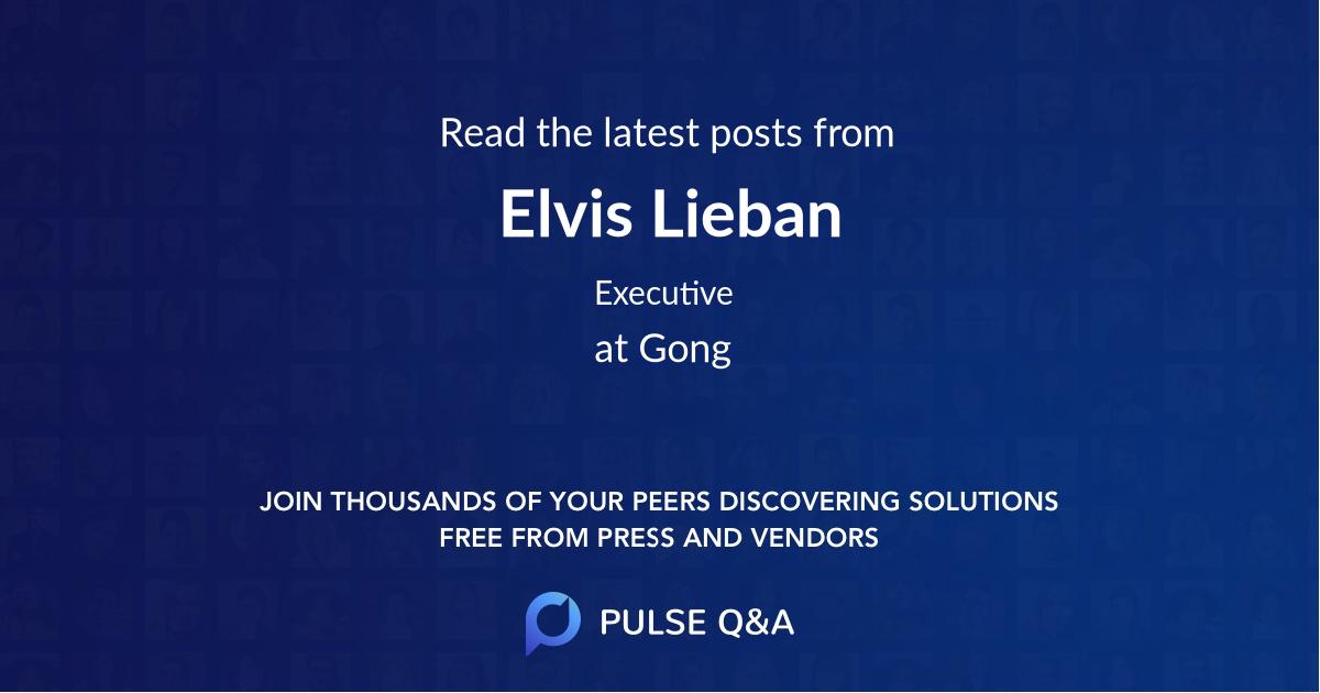 Elvis Lieban