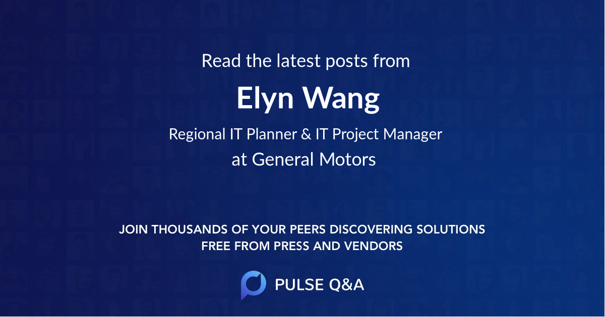 Elyn Wang